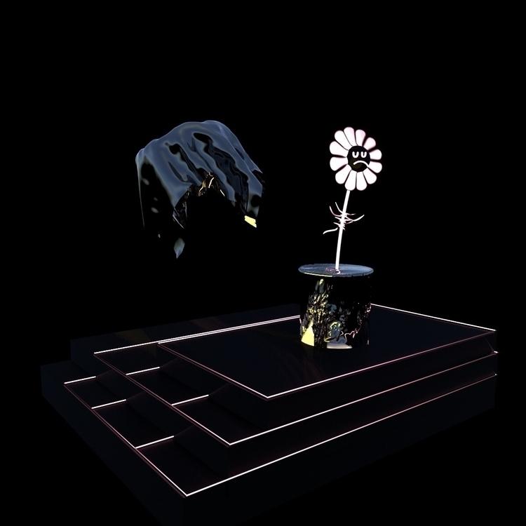 Flower Boy , material test - 3d - mos | ello