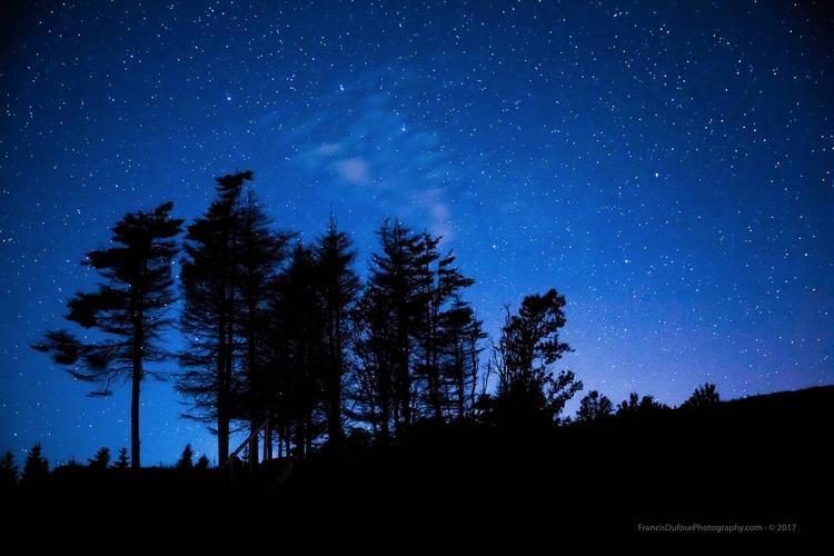 Magic night stars Starry sky ph - francisdufour | ello