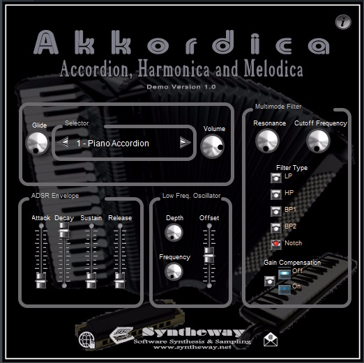 - Akkordica Virtual Accordion,  - syntheway | ello