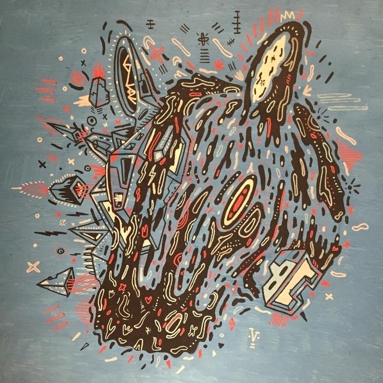 illustration, animal, drawing - galekto | ello