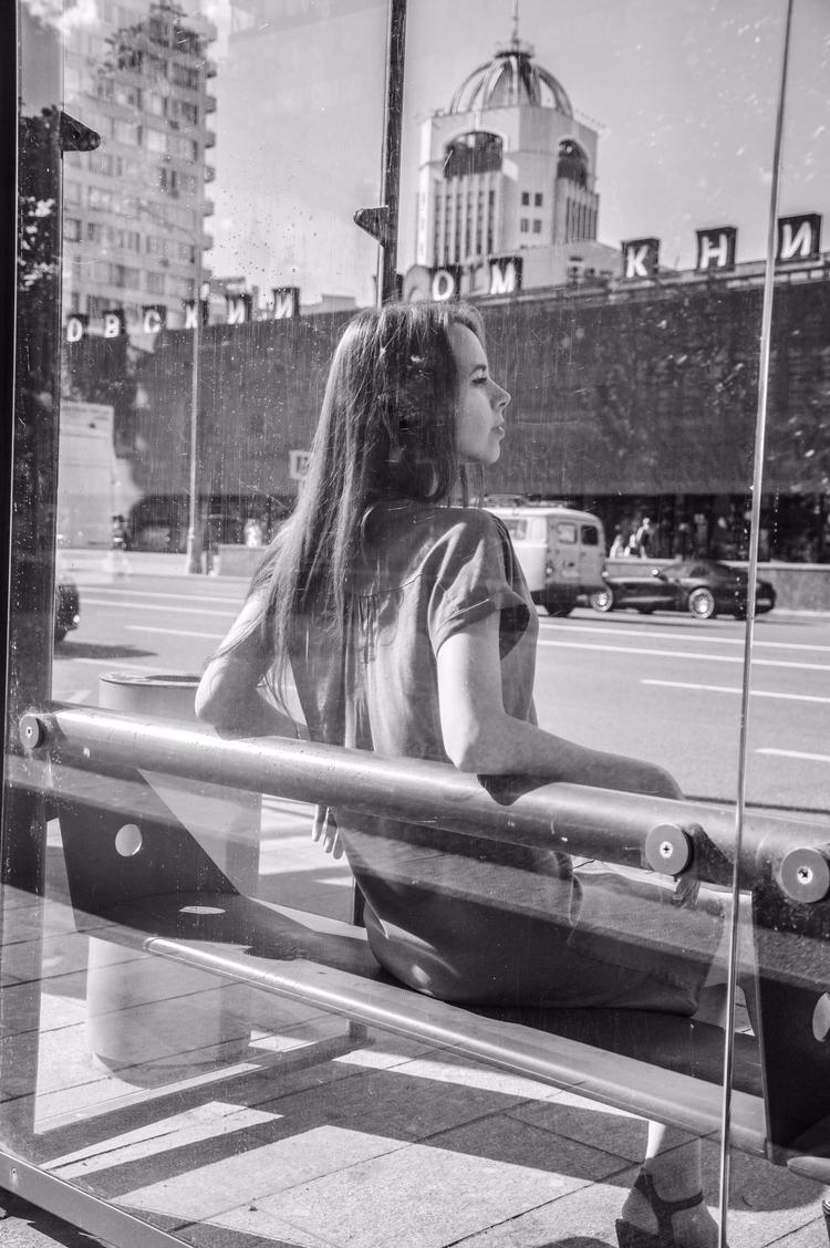 streets. world - street, girl, Moscow - kristelleart | ello