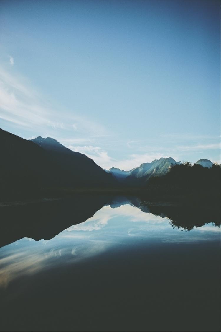 Summer days. Pitt Lake, BC.  - davidarias | ello