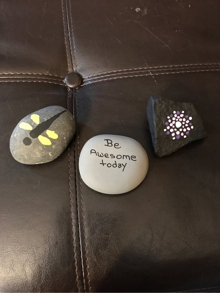 Started rock painting town - sunshine-knight | ello