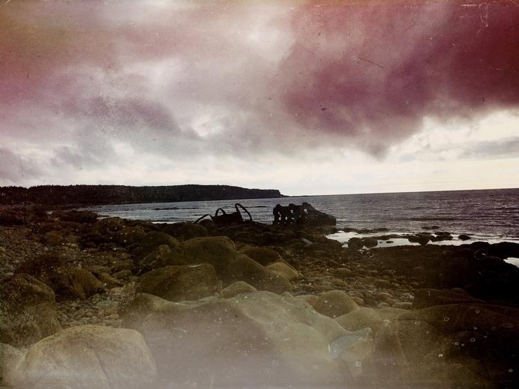 Crash site Ethie maritime 1915  - dainahodgson   ello