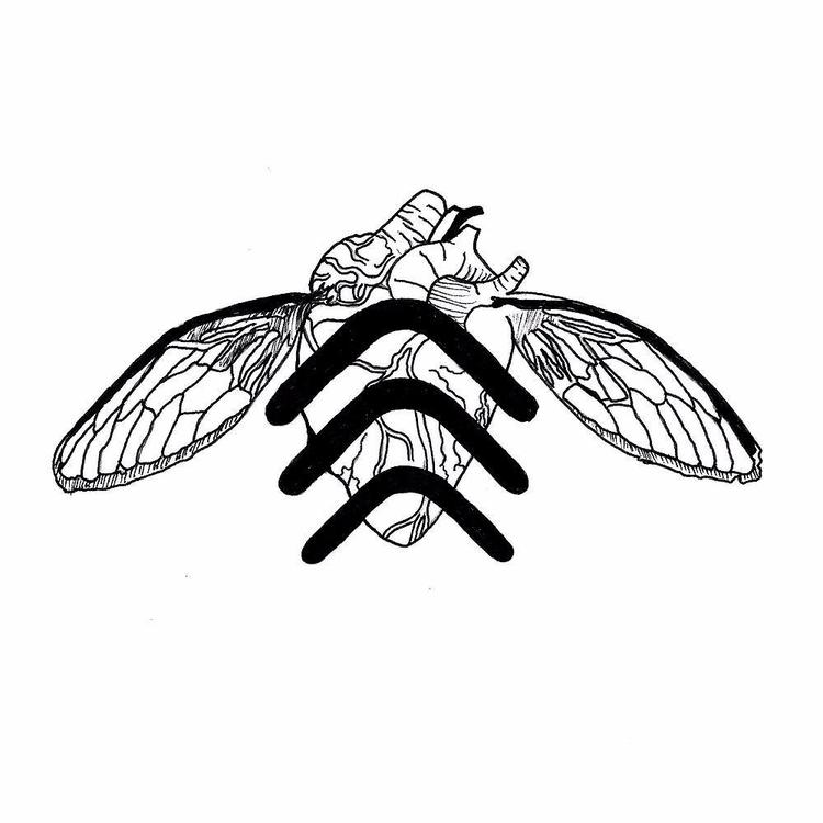 fly - hearttattoo, mysticism, mysticismtattoo - rotserp | ello