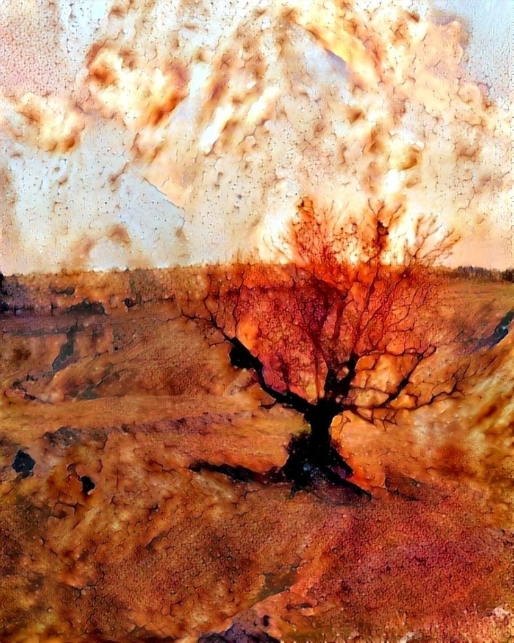 Rusted roots - photography, tree - kenlong | ello