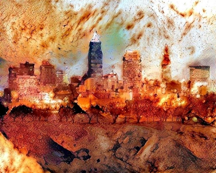 Rust belt city - photography, Cleveland - kenlong | ello