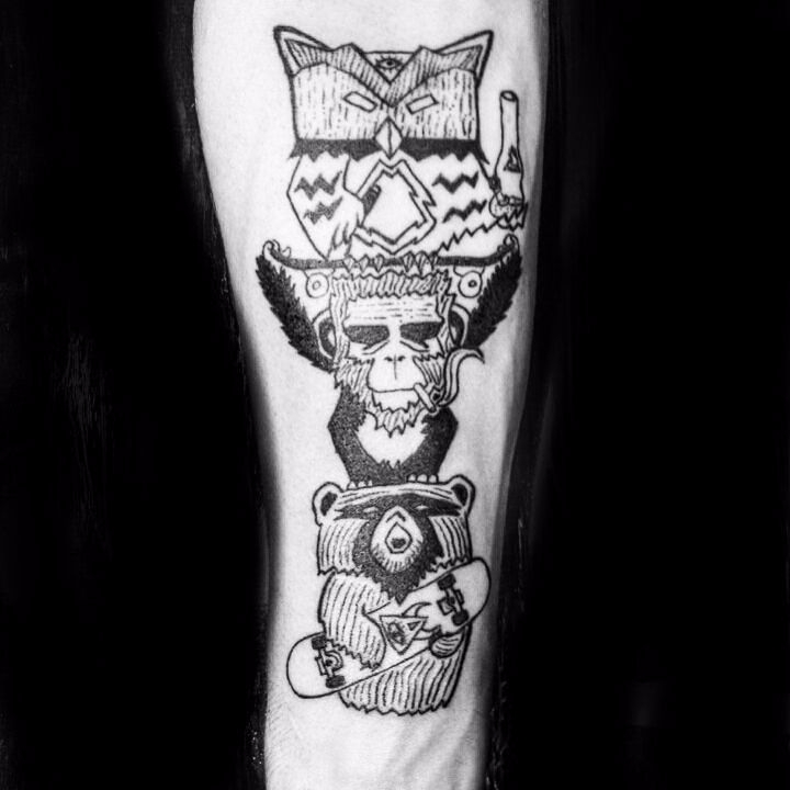 Totem free spirit - ink, tattoos - rotserp | ello