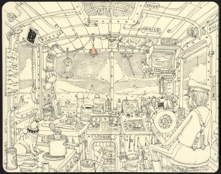 high seas, scanned version - mattiasadolfsson | ello