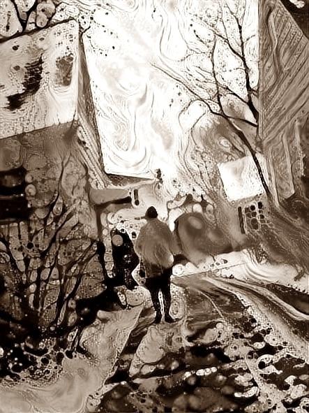 Winter driveway - photography - kenlong | ello