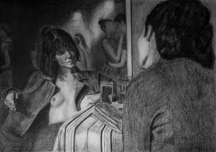 Olga Hepnarova - drawing, pencil - maksmj | ello