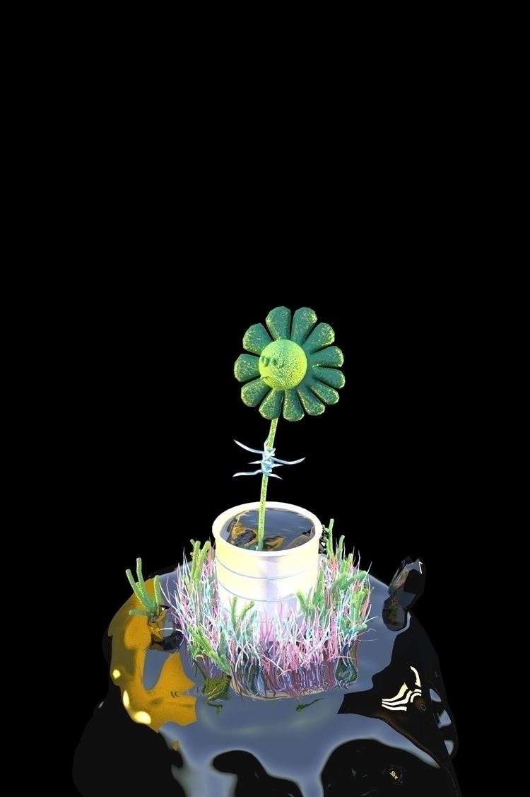 Flower Boy Survives Apocalypse - mos | ello