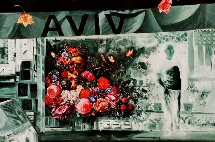 Aviv Flowers traditional Vanity - nekodasinger | ello