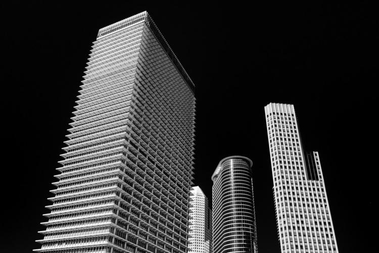 Dark Sky Towers Downtown ExxonM - mattgharvey | ello