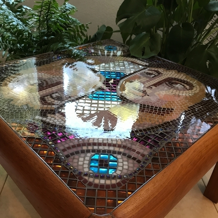 Roman portrait inspired mosaic  - rhea_cheri | ello