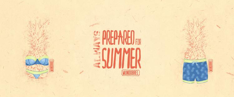 Mundobrel - illustration, art, summer - mundobrel | ello