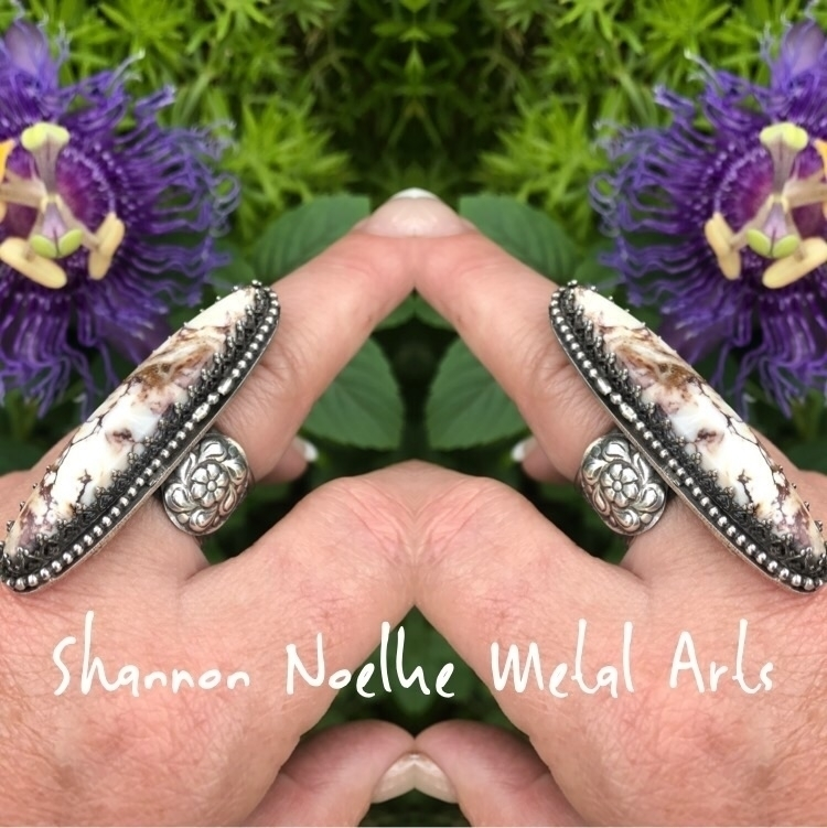 Finished size 7.25 Wildhorse Ma - shannon_noelke_metal_arts | ello