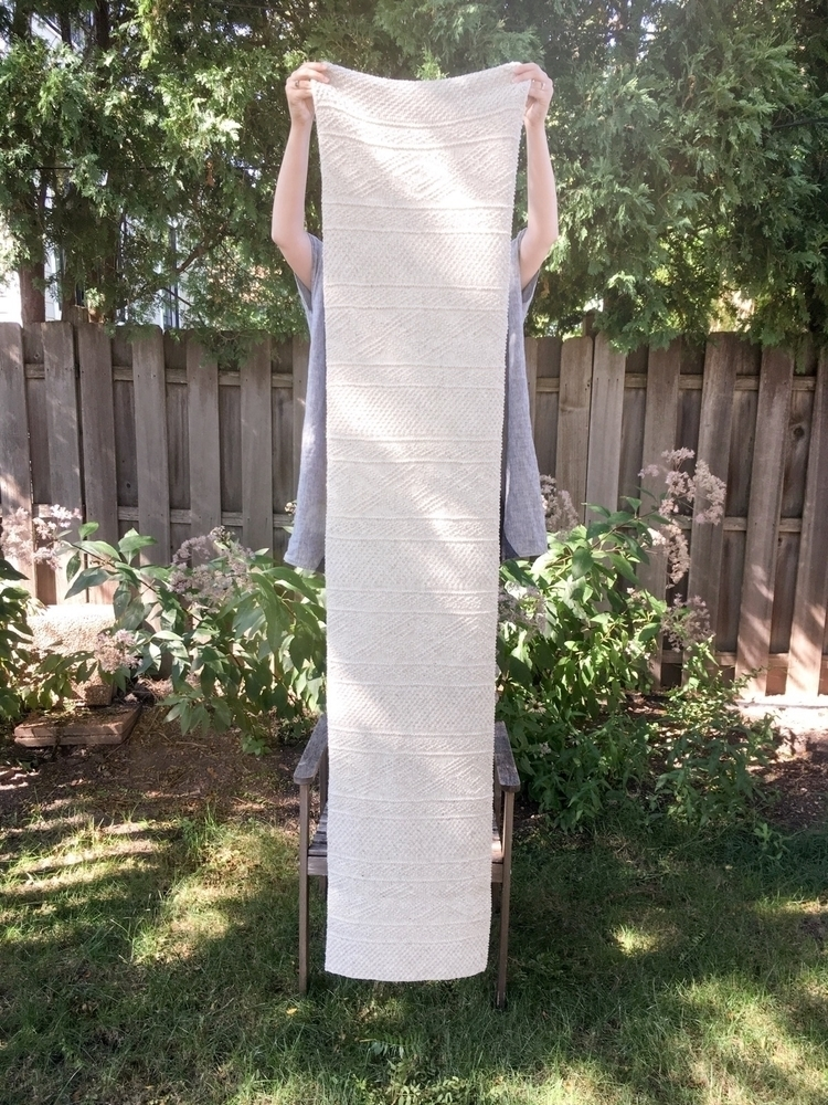 scarf! Ludlow Julie Hoover knit - grainlinestudio | ello