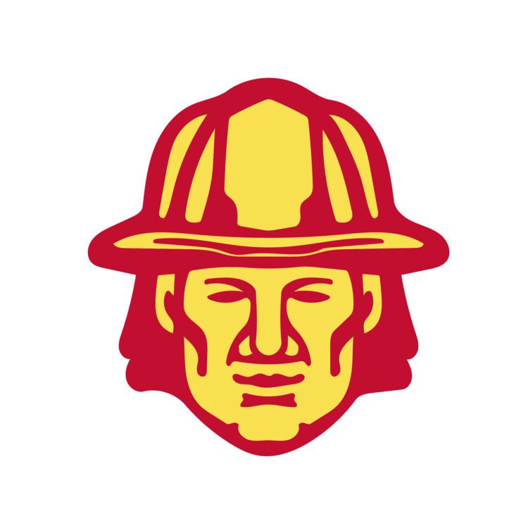 Retro - Fireman, Head, Front, retro - patrimonio | ello