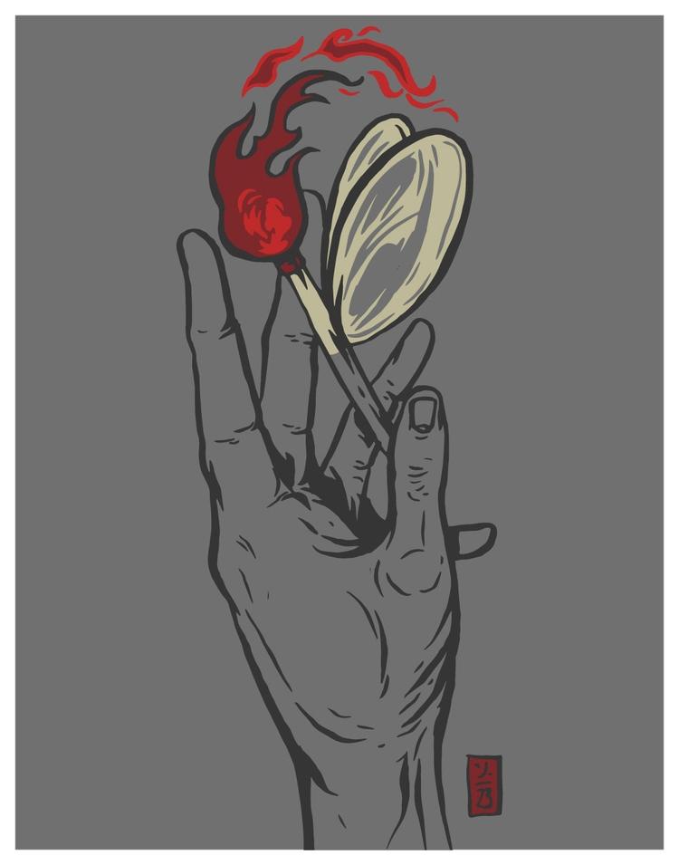Firefly - illustration - thomcat23 | ello
