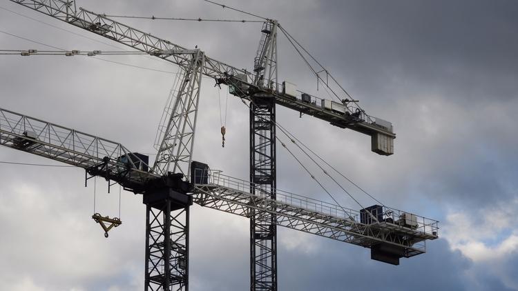 Cranes - urban, hdr, architecture - koutayba | ello