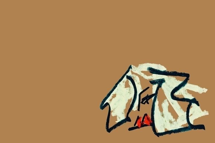 Girl, II - art, design, illustration - jkalamarz | ello