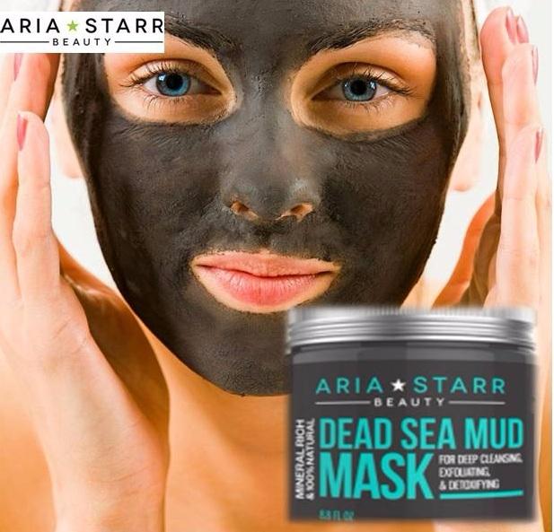 Dead Sea Mud Mask Beauty Benefi - ariastarrbeauty | ello
