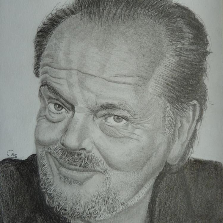 Jack Nicholson drawing - portrait - casdouwsma | ello