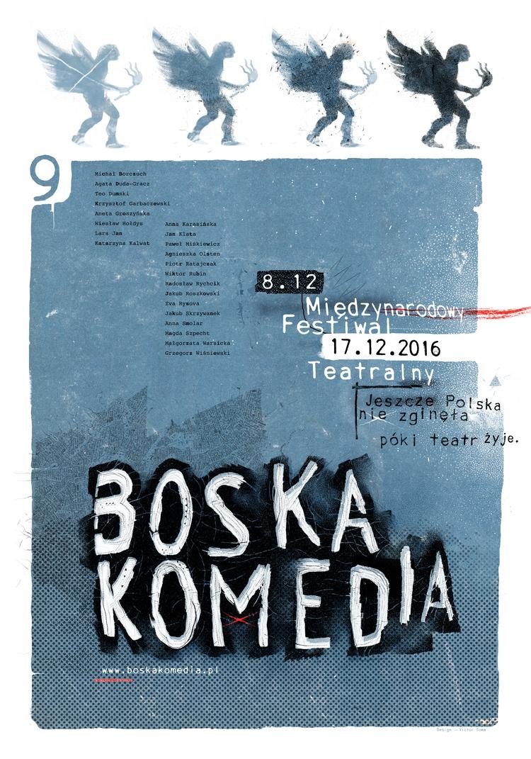 poster 9th DIVINE COMEDY (BOSKA - victorsoma   ello