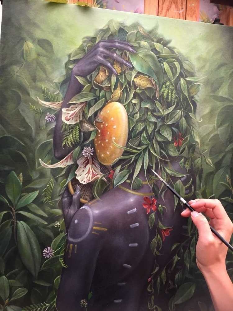 Final touch ups, Eve - hannahfyata | ello
