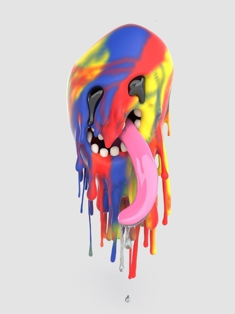Great Rainbow Spirit sculpted - JOYworld - joy | ello