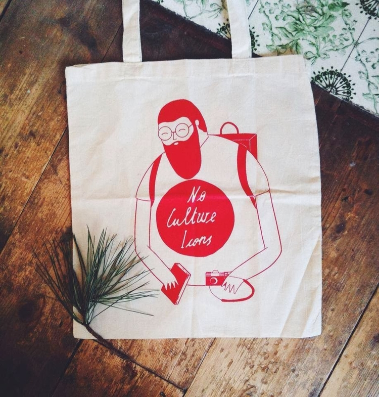Tote bag culture Icons years - mikedriver | ello