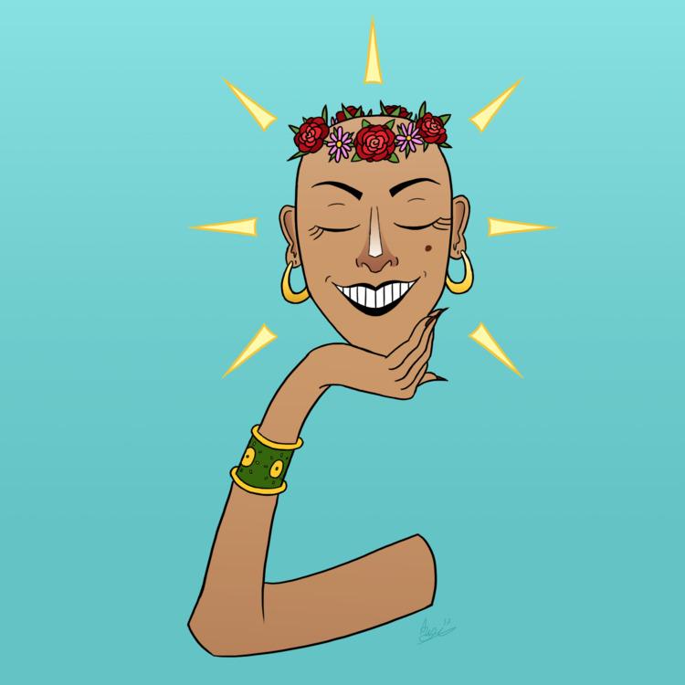 glistening :sparkles:⠀ ⠀ - drawing - akmarian | ello