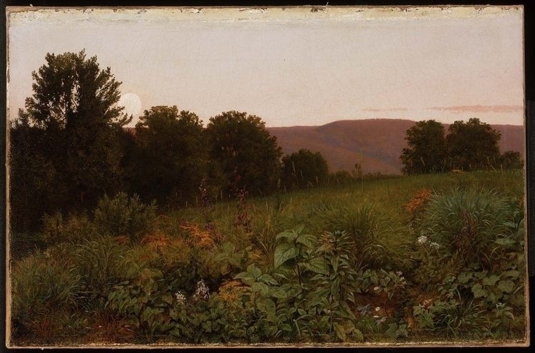 Sunset Meadow William Trost Ric - bitfactory | ello