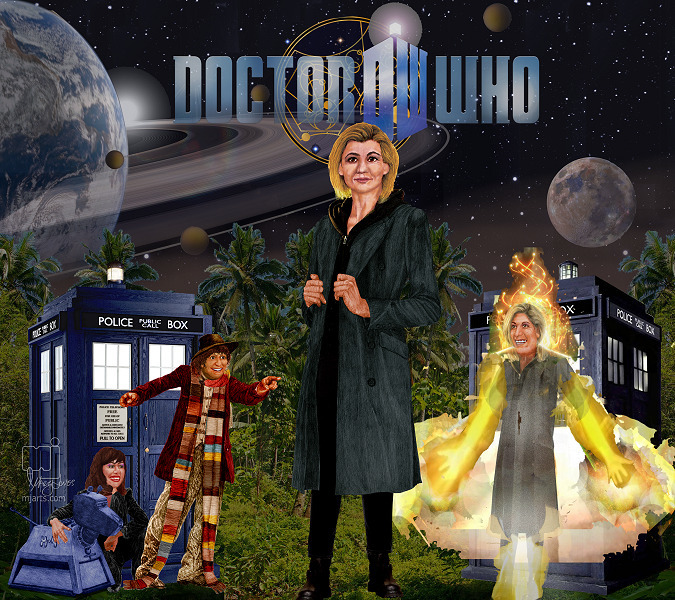 13th Doctor, cameo appearance D - mjartscom | ello