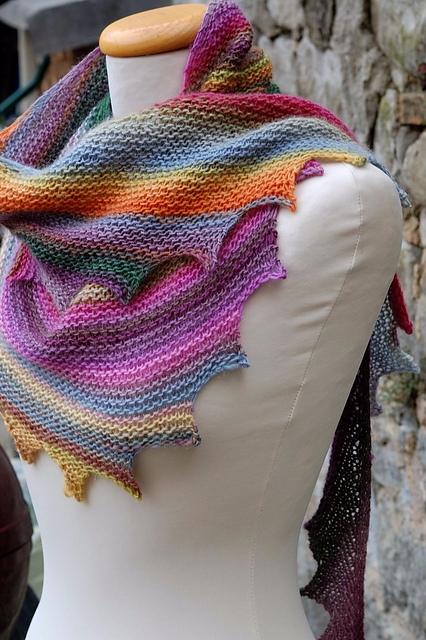 loved knitted scarf, beautiful  - brunacrochet | ello