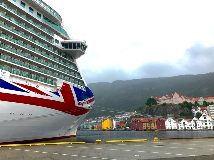 Docked Britannia - Norway, pocruises - paulgriffiths | ello