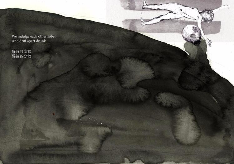 Jia paintings, illustrations sk - thefloatingmagazine   ello