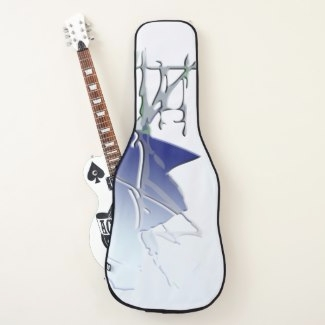 guitar case ice shiver created  - cglightningart | ello