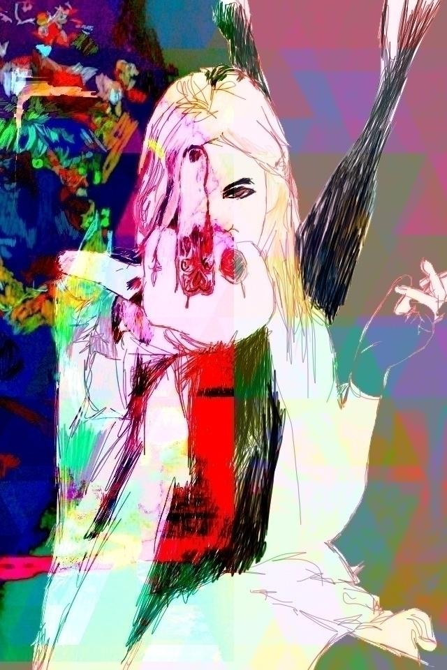 'Beep Digital art / Mixed Media - orraviv   ello