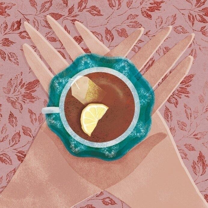 tea, design, illustration - sallywalkerillustration | ello