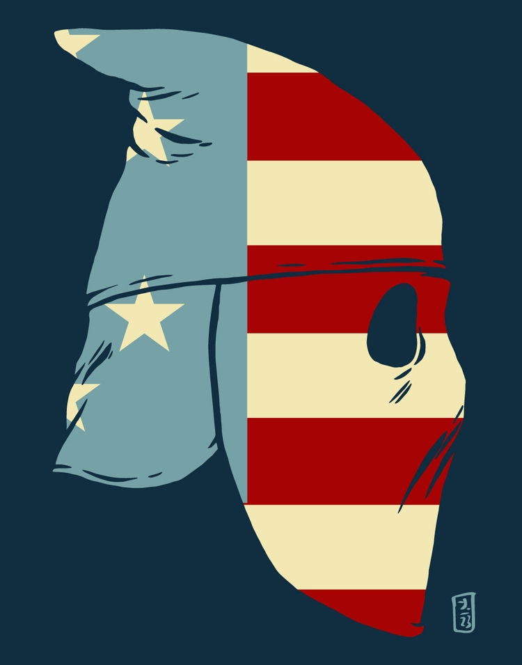 American Ghost - illustration - thomcat23 | ello