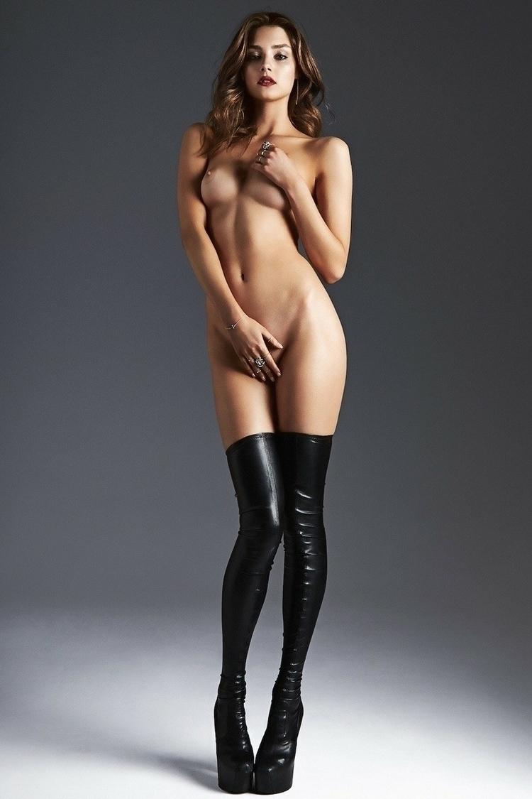 model, nude, photoshoot - blue-light | ello