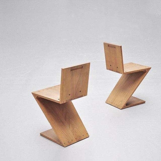 Zig Zag chair (1932) - Gerrit R - letsdesigndaily   ello