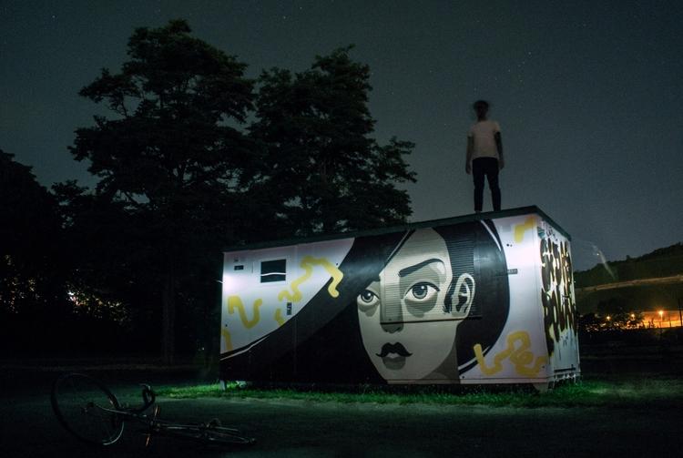 nightflow - ate, urbanart, art, streetart - sidas_ate | ello