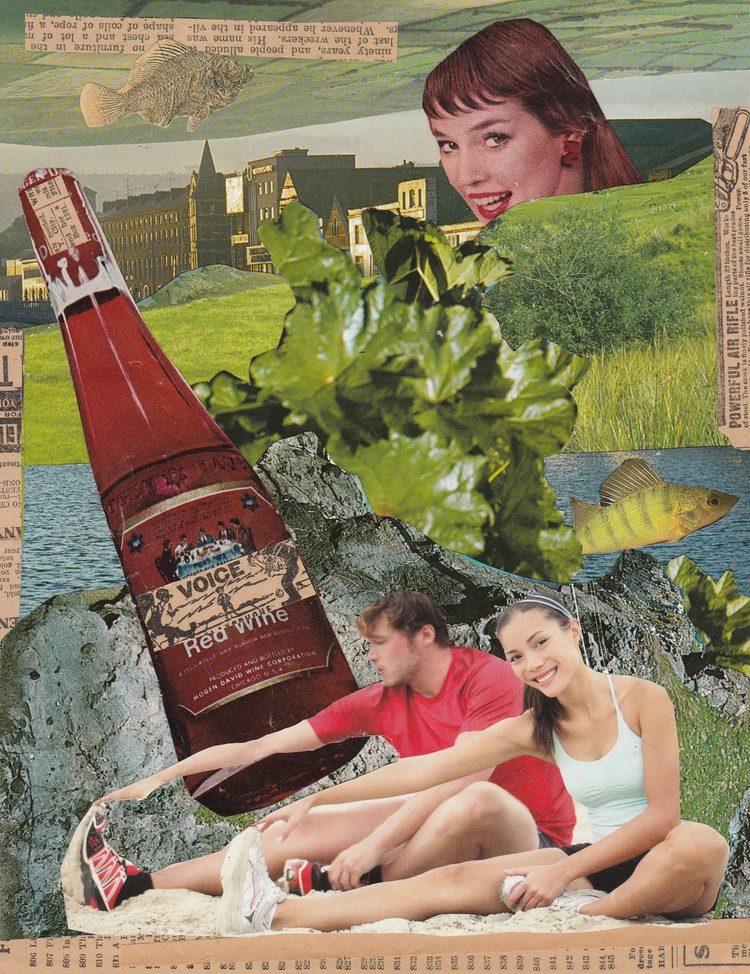 Summer Days Collage Jeanne Teol - jeanneteolis | ello