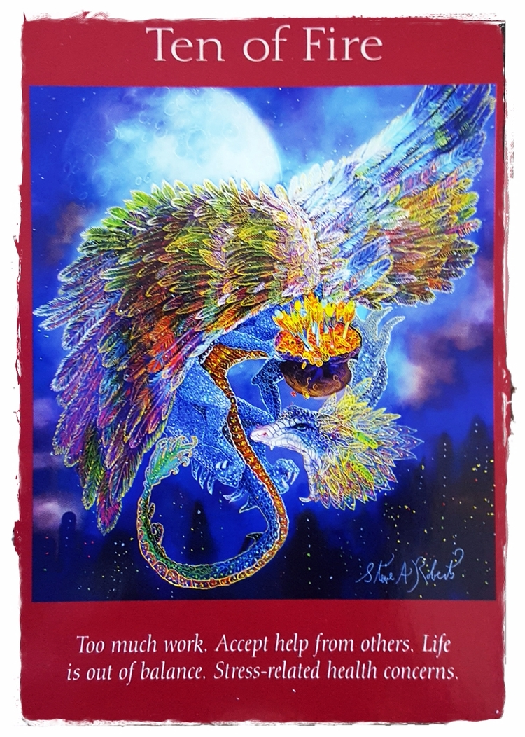 Angel Tarot ~ Aug 21 - AllWorkandNoPlay - speedykitty | ello