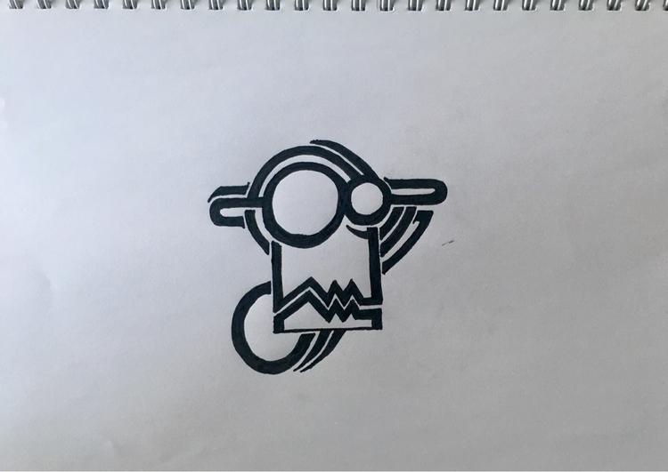 drawing, tattoo, logo, painting - aming   ello