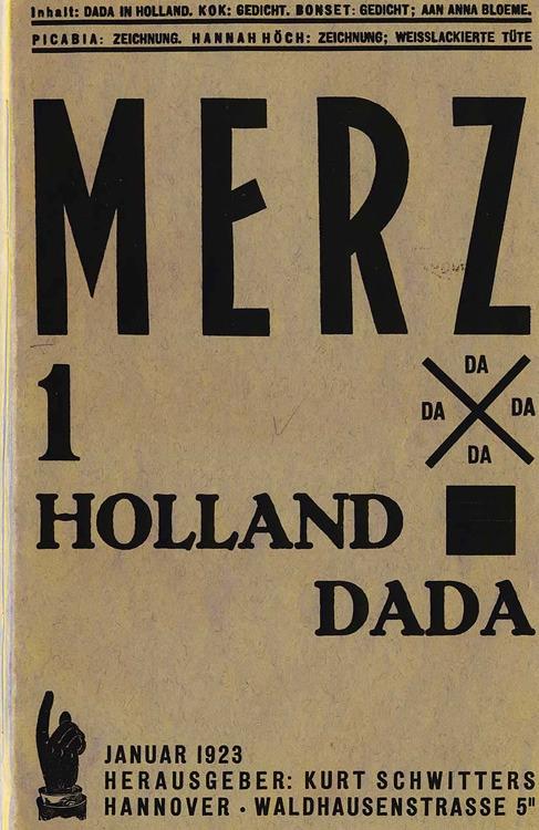 Kurt Schwitters. Merz, 1923 - arthurboehm | ello