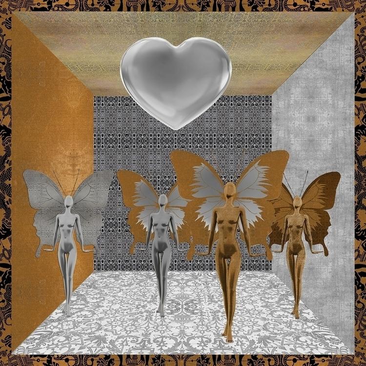Fairies Worshipping Love - zuzugraphics | ello